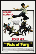 "Movie Posters:Action, Fists of Fury (National General, 1973). One Sheet (27"" X 41""). KungFu Action. ..."