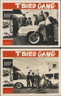 """Movie Posters:Drama, T-Bird Gang (Film Group, 1959). Lobby Cards (2) (11"""" X 14""""). Drama.... (Total: 2 Items)"""