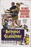 "Movie Posters:Adventure, Revenge of the Gladiators (Paramount, 1965). One Sheet (27"" X 41"").Adventure. ..."