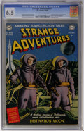 Golden Age (1938-1955):Science Fiction, Strange Adventures #1 (DC, 1950) CGC FN+ 6.5 Off-white to whitepages....
