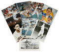 """Autographs:Photos, Lot of Signed Baseball Photographs A lot of 40+ 8x10"""" signedphotographs, both color and black and white. Included are sig..."""