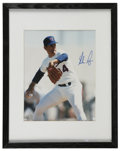 "Autographs:Photos, Nolan Ryan Signed Photograph Framed. Spectacular signature gracesthe professionally framed and matted 8x10"" photograph of ..."