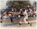 Autographs:Photos, Mickey Mantle Signed Photographs Lot of 2. The pride of Commerce,Oklahoma Mickey Mantle's signature dominates the two 8x10...