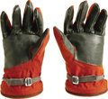 Transportation:Space Exploration, Pair of 1961 Soviet Cosmonaut Gloves from the world's first spacesuit SK-1 (Vostok program), the same type as Yuri Gagarin u... (Total: 2 Item)
