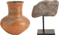 Antiques:Antiquities, A Lot of Two Pre-Columbian Objects... (Total: 2 Items)