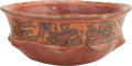 Antiques:Antiquities, A Maya Fluted Bowl...