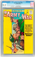 Silver Age (1956-1969):War, Our Army at War #135 (DC, 1963) CGC VF+ 8.5 Off-white to white pages....