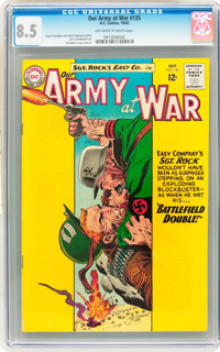 Our Army at War #135 (DC, 1963) CGC VF+ 8.5 Off-white to white pages