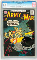 Silver Age (1956-1969):War, Our Army at War #126 (DC, 1963) CGC VF+ 8.5 Off-white to white pages....