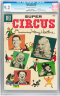 Silver Age (1956-1969):Adventure, Four Color #694 Super Circus - Circle 8 pedigree (Dell, 1956) CGC NM- 9.2 Off-white to white pages....