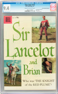 Silver Age (1956-1969):Adventure, Four Color #775 Sir Lancelot and Brian - Circle 8/Canadian Edition (Dell, 1957) CGC NM 9.4 Cream to off-white pages....