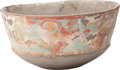 Antiques:Antiquities, A Maya Fresco Vessel...