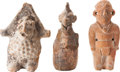 Antiques:Antiquities, A Lot of Three Objects... (Total: 3 Items)