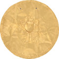 Antiques:Antiquities, Disc with Turtle and Serpents...