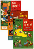 Bronze Age (1970-1979):Cartoon Character, Walt Disney's Comics and Stories File Copies Group (Gold Key,1963-80) Condition: Averages VF/NM.... (Total: 11 Comic Books)