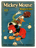 Platinum Age (1897-1937):Miscellaneous, Mickey Mouse Magazine V2#2 (K. K. Publications/ Western Publishing Co., 1936) Condition: GD....
