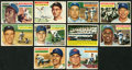 Baseball Cards:Lots, 1956 Topps Baseball Collection (90) With Mantle & Other HoFers! ...