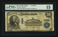 National Bank Notes:Maine, Kezar Falls, ME - $20 1902 Plain Back Fr. 653 The Kezar Falls NBCh. # 9826. ...