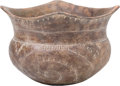 American Indian Art:Pottery, A MISSISSIPPIAN POTTERY BOWL. c. 1000 - 1200 A. D....