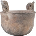 American Indian Art:Pottery, A MISSISSIPPIAN POTTERY EFFIGY VESSEL. c. 1000 - 1400 A. D....