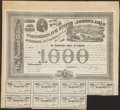 Confederate Notes:Group Lots, Ball 201 Cr. 125 $1000 Bond 1863 Very Fine.. ...