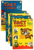 Golden Age (1938-1955):Non-Fiction, Real Fact Comics Group (DC, 1946-49).... (Total: 5 Comic Books)