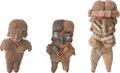 Antiques:Antiquities, A Lot of Three Chupicuaro Pretty Ladies... (Total: 3 Items)