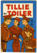 Golden Age (1938-1955):Humor, Four Color #55 Tillie the Toiler (Dell, 1944) Condition: VF+....