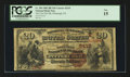 National Bank Notes:Pennsylvania, Pittsburgh, PA - $20 1882 Brown Back Fr. 504 The Fort Pitt NB Ch. #(E)2415. ...