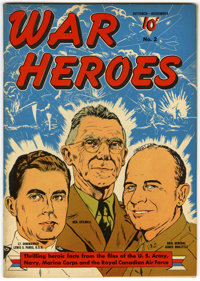 War Heroes #2 (Dell, 1942) Condition: VF/NM