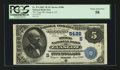 National Bank Notes:Kentucky, Glasgow, KY - $5 1882 Value Back Fr. 574 The Trigg NB Ch. #(S)5486. ...