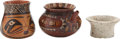 Antiques:Antiquities, A Lot of Three Pre-Columbian Objects... (Total: 3 Items)