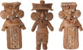 Antiques:Antiquities, A Lot of Three Fine Michoacan Figures... (Total: 3 Items)