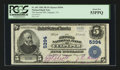 National Bank Notes:Virginia, Culpeper, VA - $5 1902 Plain Back Fr. 607 The Second NB Ch. # 5394....