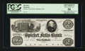 Obsoletes By State:Massachusetts, Methuen, MA- Spicket Falls Bank $2 Oct. 1, 1853 UNL Proof. ...