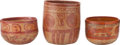 Antiques:Antiquities, A Lot of Three Maya Vessels... (Total: 3 Items)
