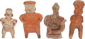Antiques:Antiquities, A Lot of Four West Coast Figures... (Total: 4 Items)
