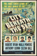 "Movie Posters:Action, City Beneath the Sea (Universal International, 1953). One Sheet(27"" X 41""). Action.. ..."