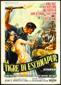 "Movie Posters:Adventure, Journey to the Lost City (Cineriz, 1960). Italian 2 - Foglio (39"" X55""). Adventure.. ..."