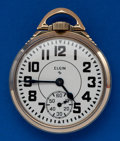 Timepieces:Pocket (post 1900), Elgin 16 Size, 21 Jewel Sharp 571 Pocket Watch. ...
