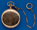 Timepieces:Pocket (post 1900), Rockford, 21 Jewel, 16 Size Plymouth Watch Co. Prince of Wales. ...