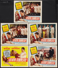 "Movie Posters:Adventure, Seven Sinners (Realart, R-1954). Title Lobby Card and Scene Cards(4) (11"" X 14""). Adventure.. ... (Total: 5 Items)"