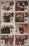 """Movie Posters:Crime, The Roaring Twenties (Warner Brothers, R-1950s). Lobby Card Set of8 (11"""" X 14""""). Crime.. ... (Total: 8 Items)"""