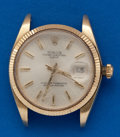 Timepieces:Wristwatch, Rolex, 14k Gold, Ref. 1500 Oyster Perpetual Date. ...