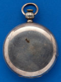 Timepieces:Pocket (pre 1900) , Elgin 18 Size Coin Silver Key Wind. ...
