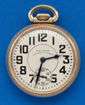 Timepieces:Pocket (post 1900), Waltham 16 Size, 23 Jewel Vanguard Pocket Watch. ...