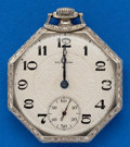 Timepieces:Pocket (post 1900), South Bend, 12 Size, 21 Jewel Studebaker. ...
