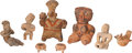 Antiques:Antiquities, A Lot of Eight Ancient Toys and Figures... (Total: 8 Items)