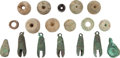 Antiques:Antiquities, A Lot of Bells, Beads and Ear Flares... (Total: 18 Items)