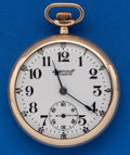 Timepieces:Pocket (post 1900), Ingersoll 14 Size Reliance Pocket Watch. ...